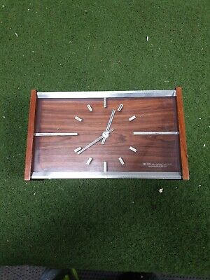 Vintage Smiths Floating Balance 8 Day Mantel Clock UNTESTED