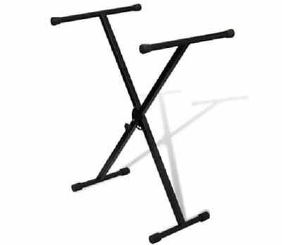 Heavy Duty Folding Keyboard Stand X Frame Portable Piano With Straps Durable HOT
