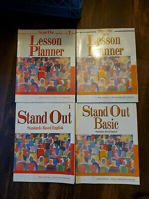 Esl Stand Out Basic English 1 Workbook And Lesson Planner For Instructor LOT
