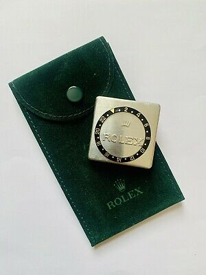 Rolex GMT Master II-16713 LN Bezel Insert / Rolex Travel Pouch (genuine Items)