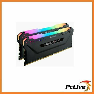 Corsair VENGEANCE RGB PRO 16GB DDR4 3000 Mhz Gaming Memory 2x 8GB RAM Desktop