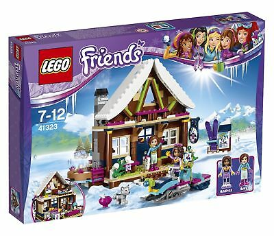 LEGO Friends Snow Resort Chalet 2017 (41323) Brand New and Sealed