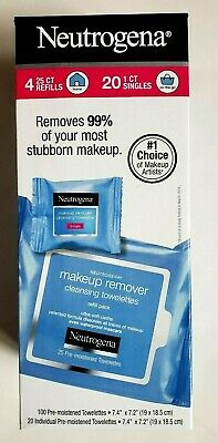 120Ct Neutrogena Makeup Remover Cleansing Towelettes Facial Wipe