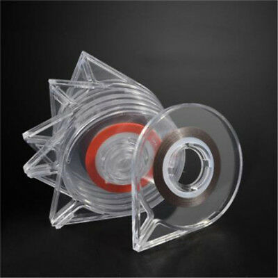 Nail Art Gold Silver Striping Tapes Clear Holder 3D Decoration Stickers Roller L