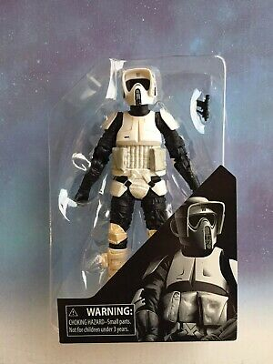 "Star Wars Black Series 6"" Action Figure: Archive Biker Scout (NEW loose)"