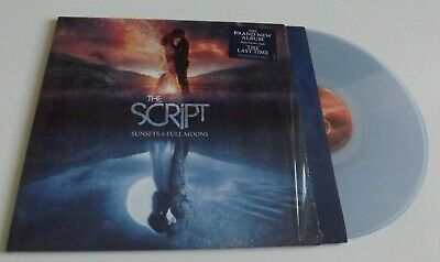 The Script – Sunsets & Full Moons CLEAR COLOURED VINYL LP + DOWNLOAD