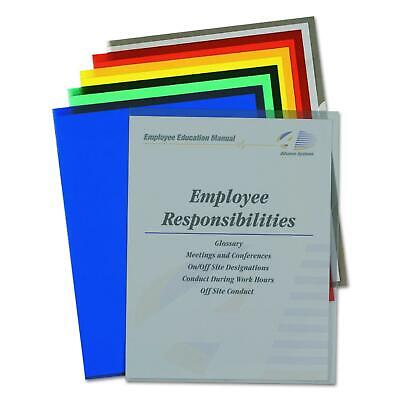 C-Line Colored Project Folders, Heavyweight Poly, Holds Materials up to 8.5 x 11