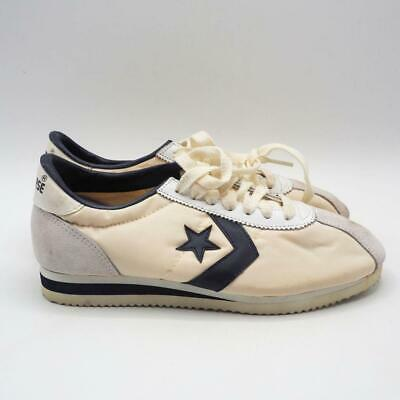 Vintage Converse Trainers Sneakers White Suede One Star Mens 6.5 NOS Deadstock
