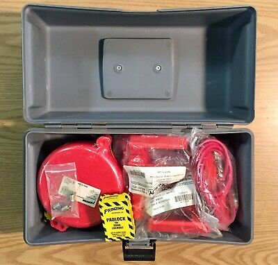 Brady Maintenance Lockout Kit 25 Piece with Valves and Carrying Case New