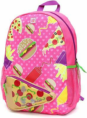 LittleMissMatched Foodie Fun Backpack (Hamburger, Pizza, French Fries)
