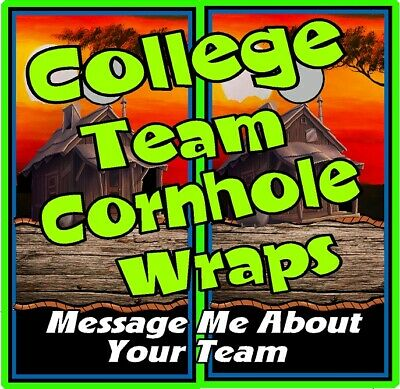 Ravens and Orioles 1010 custom cornhole board vinyl wraps stickers posters gift