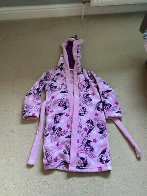 Kids Girls Tu My Little Pony Dressing Gown Age 5 - 6 Years