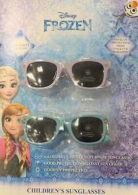 Disney Frozen Movie Elsa Princess Anna Olaf Girls Kids Youth Sunglasses NEW