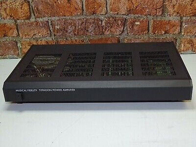 Musical Fidelity Typhoon Hi Fi Separates System Use Stereo Power Amplifier (One)