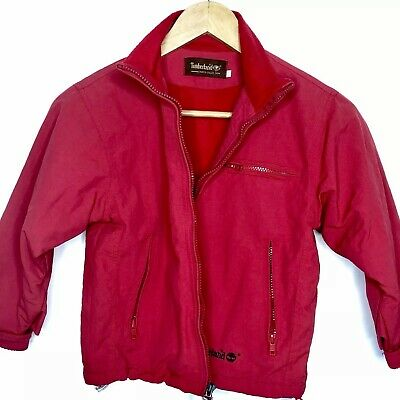 Timberland Kids Red Weather Winter Jacket Size XL