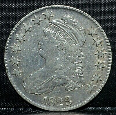 1823-P Capped Bust Half Dollar ✪ Xf Extra Fine ✪ 50C Silver Normal 3 ◢Trusted◣