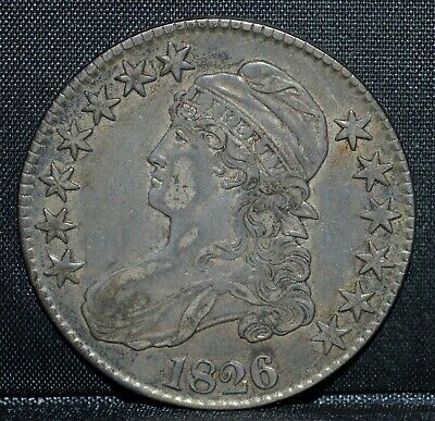 1826-P Capped Bust Half Dollar ✪ Ch-Xf ✪ 50C Silver Choice Extra Fine ◢Trusted◣