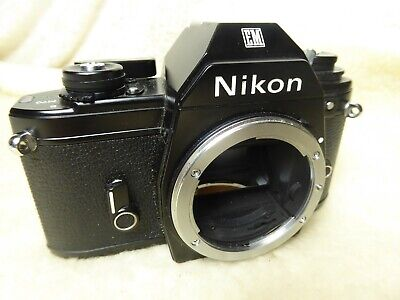 Nikon EM 35mm SLR Camera Body Only new battery fitted fully working