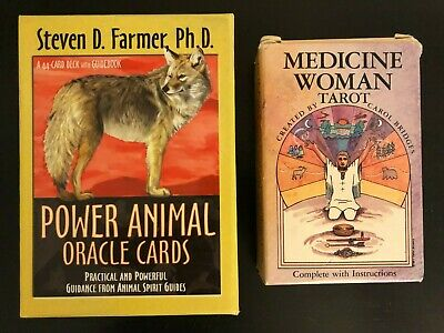 Power Animal Oracle Cards Steven D. Farmer, Ph.D. Box Set