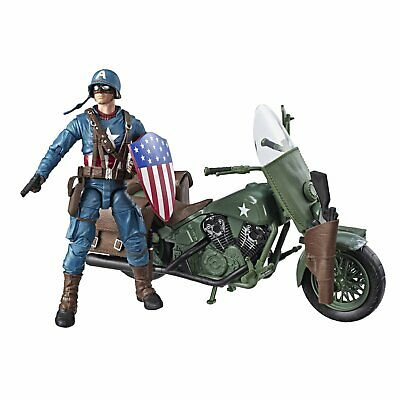 Marvel Legends Series Captain America With Motorcycle