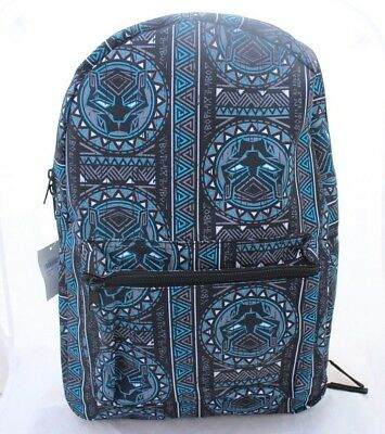 Marvel Movie Black Panther Backpack Canvas Travel Bags Casual School Bag hot@