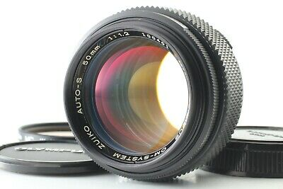 【EXC+++】Olympus OM-System OMsystem Zuiko Auto-S 50mm F / 1.2 MF Lens from JAPAN
