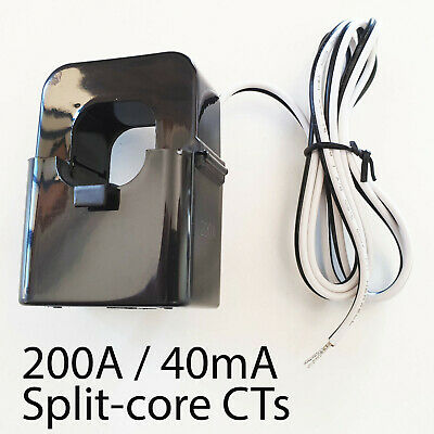 200A / 40mA Split Core Current Transformer CT