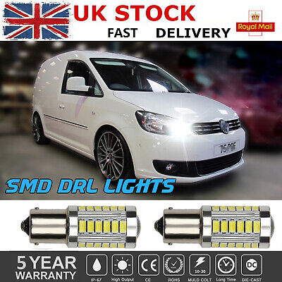VW Caddy MK3 3rd Gen Xenon Side Light Bulbs Bright White LED SMD Canbus
