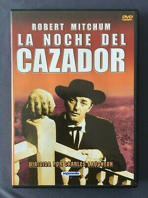 DVD LA NOCHE DEL CAZADOR Robert Mitchum Billy Chapin Sally Bruc CHARLES LAUGHTON