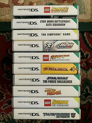 Nintendo DS Game's - (Each Game Sold Separately)