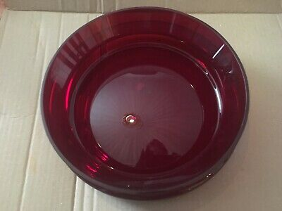 Design bowl red by Michael Sieger for Ritzenhoff