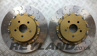 Lexus ISF USE20 07-13 FRONT two piece floating brake disc kit