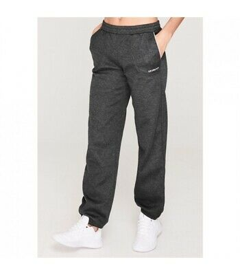 LA Gear Charcoal Grey Marl Joggers Jogging Pants Full Length Size 8 RRP £24.99