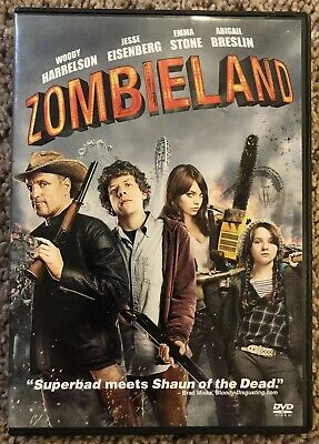 Zombieland (DVD, 2010) Woody Harrelson - In Excellent Condition!!!