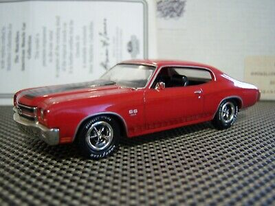 (Rare)1/43 1970 CHEVELLE SS 454 by MATCHBOX COLLECTIBLES (MIB)