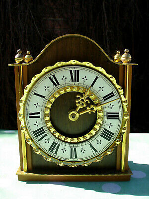 Vintage table clock JUNGHANS wall antique mantel Germany