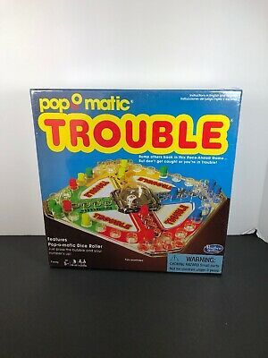 NEW Winning Moves Games Classic Trouble Board Game ORIGINAL CLASSIC GAME KIDS