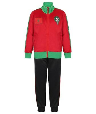 MOROCCO BOYS TRACKSUIT Football Tracksuits Bottoms Jogging Age Size