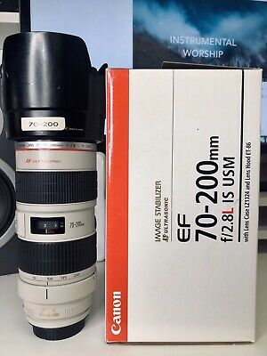 Canon EF 70-200 mm F/2.8L IS (Inbox To Save $250)