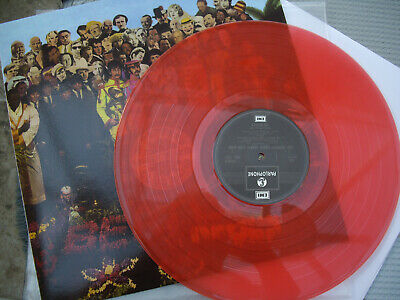 The Beatles Sgt. Peppers Lonely Hearts Club Band Red Vinyl Lp Australian Import