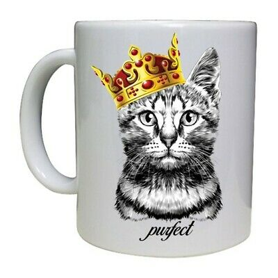 Cat Paws Printed Coffee Mug Cup Feline Animal Lover Christmas Mothers Gift