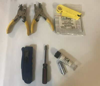 6 CABLE TOOLS , THOMAS & Betts , Diversified , CABLE PRO , DIGICON , CABLE PREP