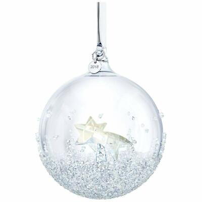 SWAROVSKI 2018 Christmas Ball Ornament Annual Edition in Retail Package - NEW