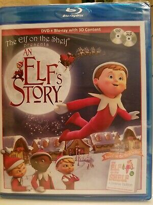 An Elfs Story DVD & Blu-Ray Disc 2011 With 3D Content Based On Elf On The Shelf