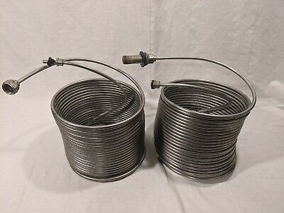 "(2) 50' Stainless Steel Jockey Box Stainless Steel Coils 5/16"" x 50'"