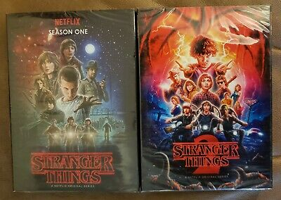 Stranger Things Season 1 & 2 - Brand New - FREE SHIPPING
