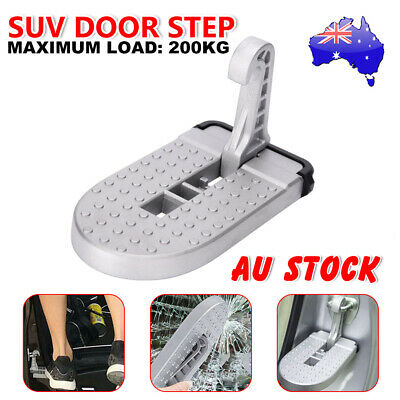 Folding Car Door Step Latch Hook Foot Stand Pedal Ladder Jeep SUV Truck Roof