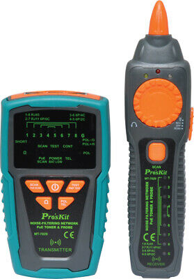 Proskit Professional Cable Tracer and Noisefiltering PoE LAN Cable Tester