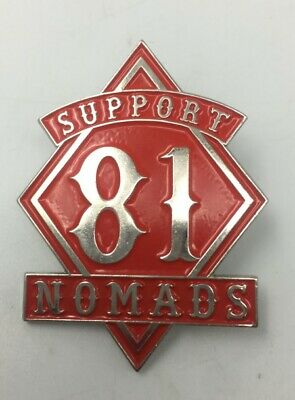 PRESENT 81 BIKER:SUPPORT LOCAL 81 PIN HELLS NOMADS81ANGELS PIN Badge METAL PATCH