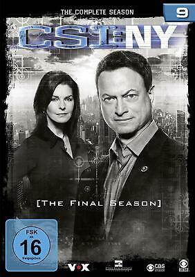 CSI NEW YORK NY COMPLETE SERIES 9 DVD Ninth 9th Season Nine UK Compatible NEW